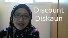 [LEARN MALAY] 10 – Discount