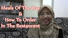[LEARN MALAY] 43-Meals&How To Order In The Restaurant