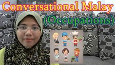 [LEARN MALAY] 91-Occupations 2