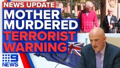 Daughter guilty of mothers manslaughter, major terror attack expected next year | 9 News Australia